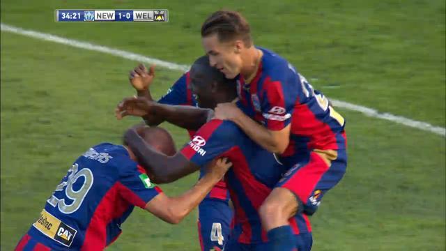 Match highlights: NEW v WEL