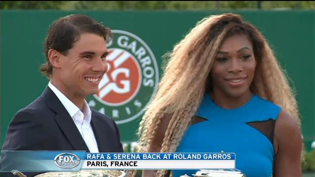 Champs back at Roland Garros