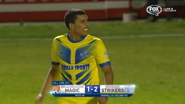 Strikers back with a bang