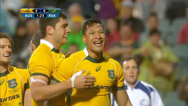 AUS V RSA: Match highlights