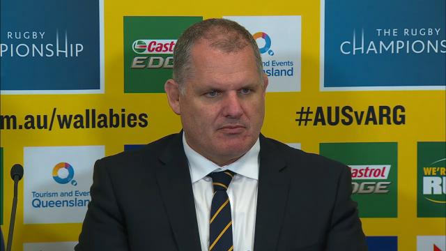 Wallabies press conference