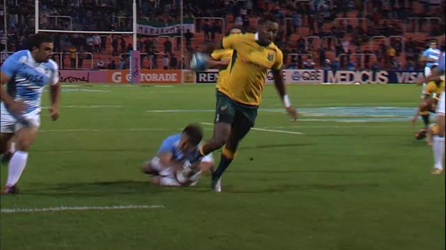 ARG V AUS: Match highlights