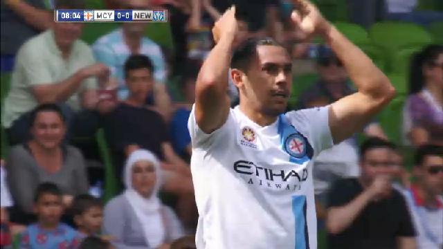 MCY v NEW: Match highlights