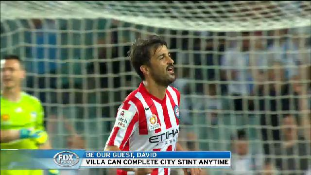 Villa to leave City?