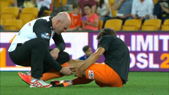 Broich has hamstring trouble