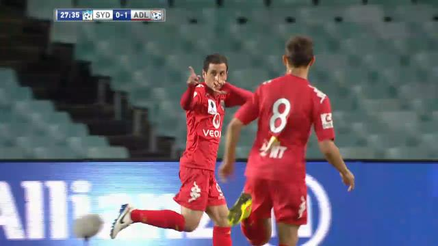 SYD v ADE: Match highlights
