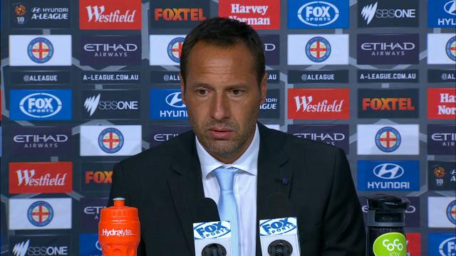 Melb City press conference