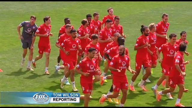 Adelaide on Red alert