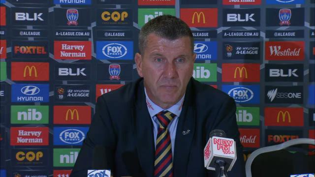 Newcastle press conference