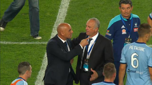 Muscat explodes at full time