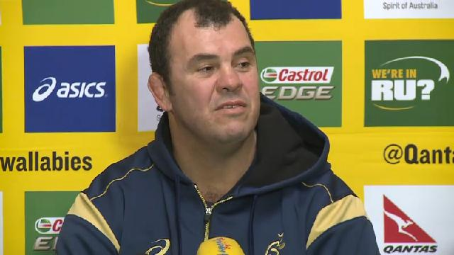 Beale grilling annoys Cheika