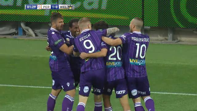 PER v WEL: Match Highlights