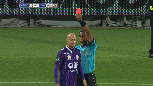 Is this the fastest red card?