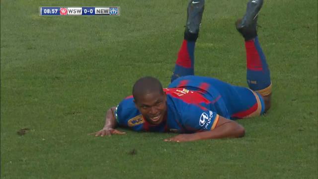 Montano misses empty goal