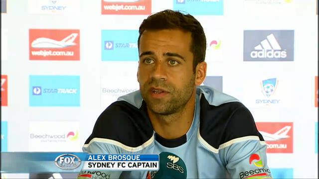 Brosque - pressure on WSW