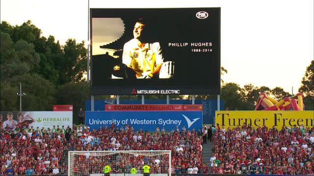Sydney derby honours Hughes