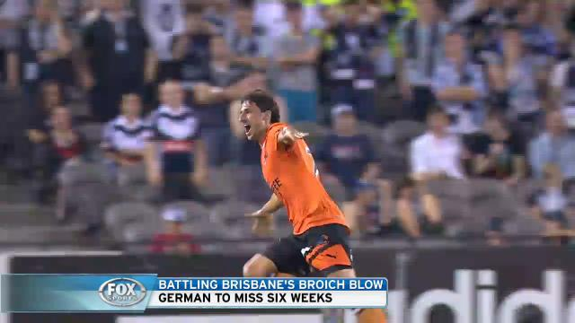 Broich to undergo surgery