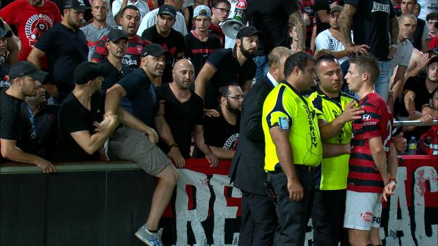 Cole, Covic clash with RBB