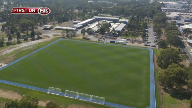 City unveil new facilities