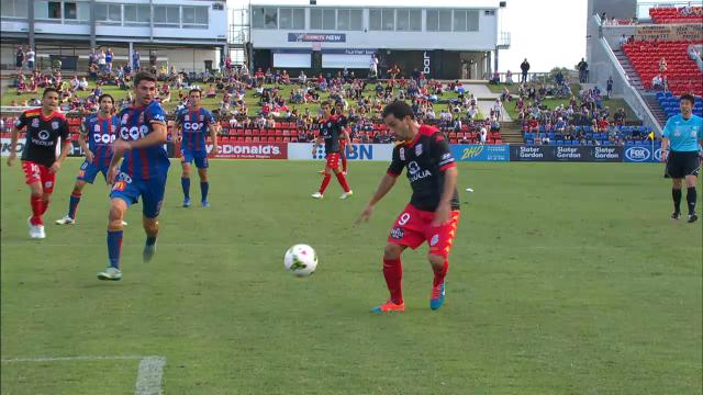 NEW v ADL: Match Highlights