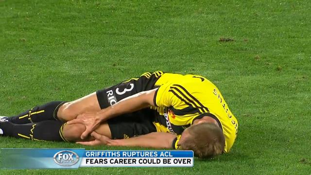 Griffiths ruptures ACL