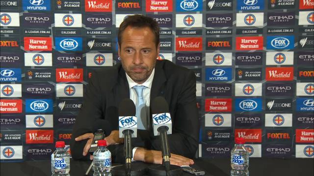 Melbourne press conference