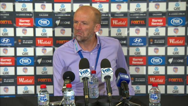 Perth press conference