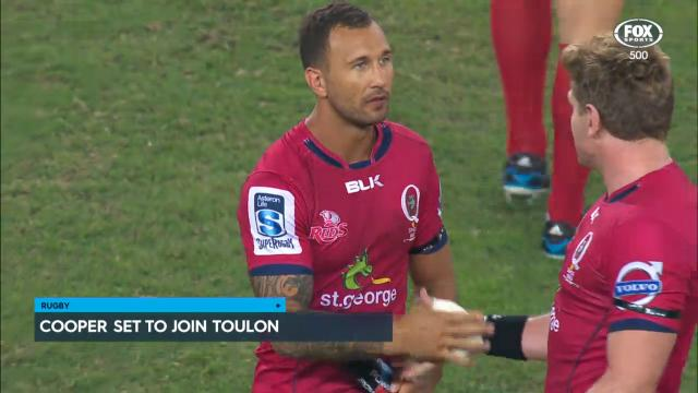 Cooper set to join Toulon