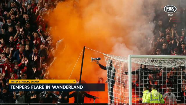 Tempers flare in Wanderland