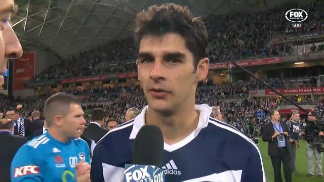Finkler speaks after GF win
