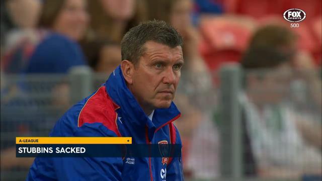 Stubbins sacked