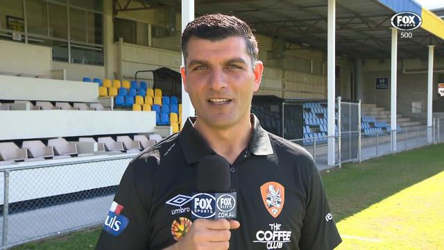 Roar coach Aloisi excited