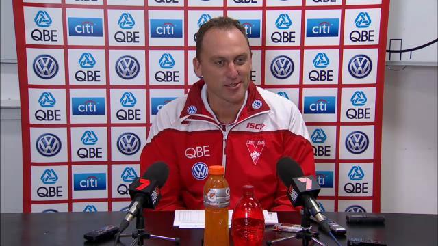 Sydney Swans press conference