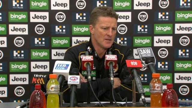 Tigers press conference