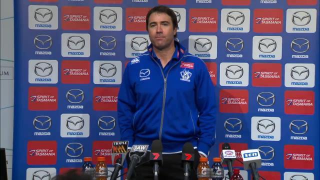Kangaroos press conference