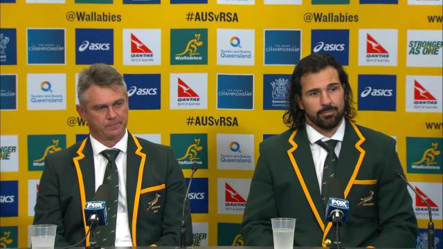 Springboks press conference