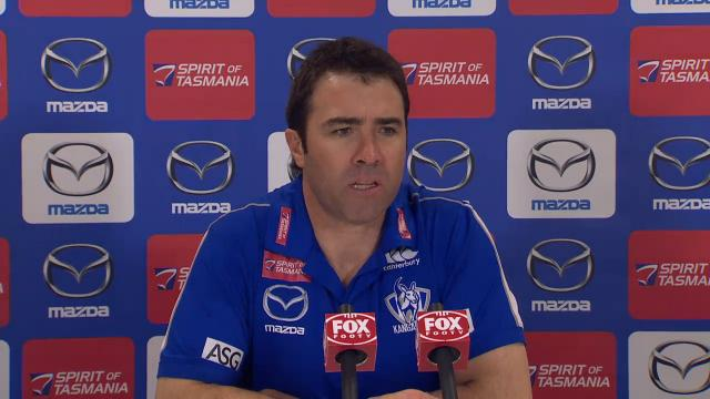 North Melbourne presser