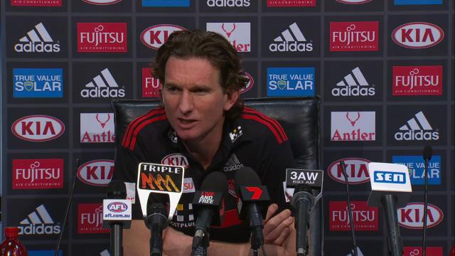 Essendon press conference