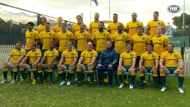 Wallabies reshuffled
