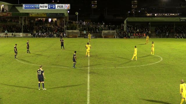 NEW v PER: Full match replay