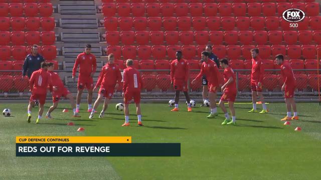 Reds seeking revenge