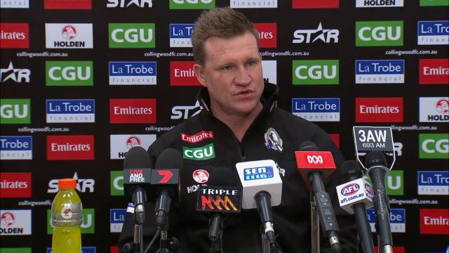Collingwood press conference