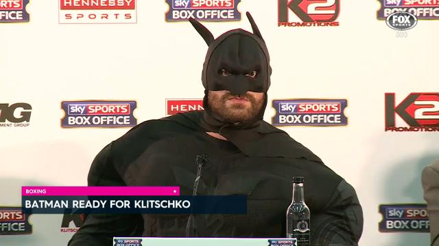 Batman ready for Klitschko