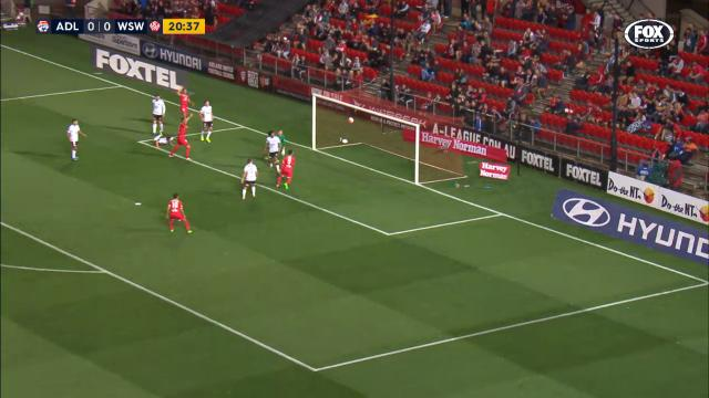 Adelaide have the lead