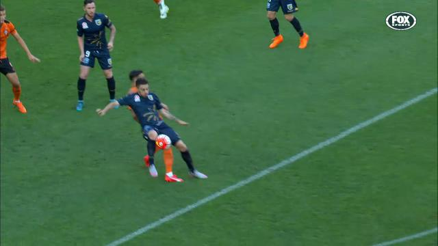 Mariners denied clear penalty