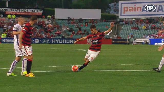 Vidosic hits Wanderers winner