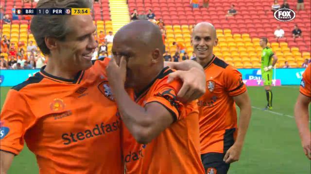 Henrique's emotional goal