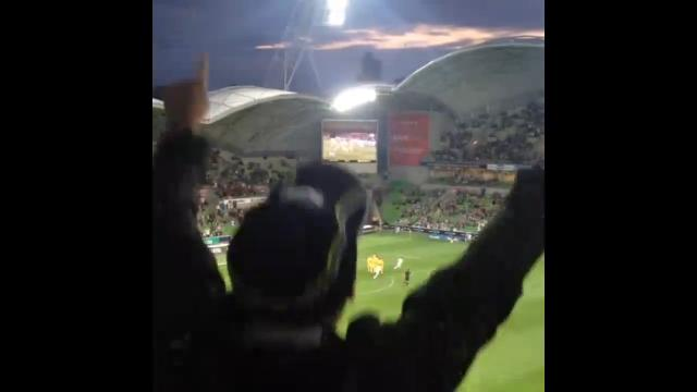 Fans react to Finkler's goal