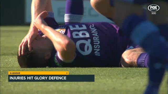 Injuries hit Glory defence
