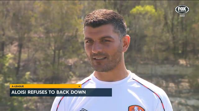 Aloisi refuses to back down